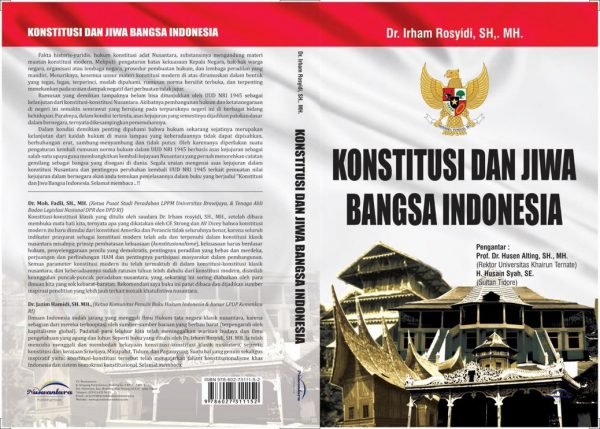 CV Nuswantara; Konstitusi dan Jiwa Bangsa Indonesia; Konstitusi; Jiwa; Bangsa Indonesia; Dr. Irham Rosyidi; 2016